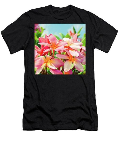 Pua Melia Ke Aloha Maui Men's T-Shirt (Athletic Fit)