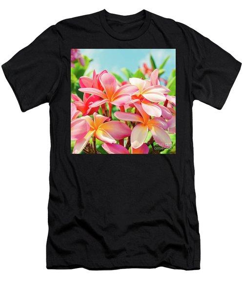 Men's T-Shirt (Athletic Fit) featuring the photograph Pua Melia Ke Aloha Maui by Sharon Mau