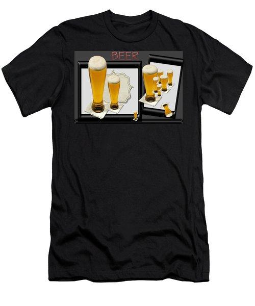 Pub Art Yes Men's T-Shirt (Slim Fit) by Tina M Wenger