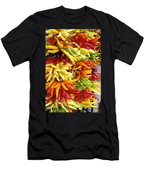 Public Market Peppers Men's T-Shirt (Athletic Fit)