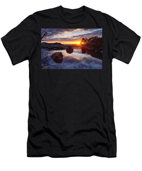 Puddle Paradise Men's T-Shirt (Slim Fit) by Craig Szymanski