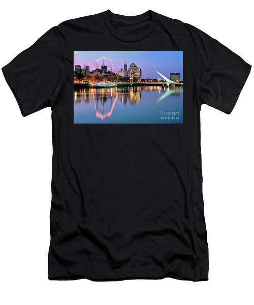 Puerto Madero I Men's T-Shirt (Athletic Fit)