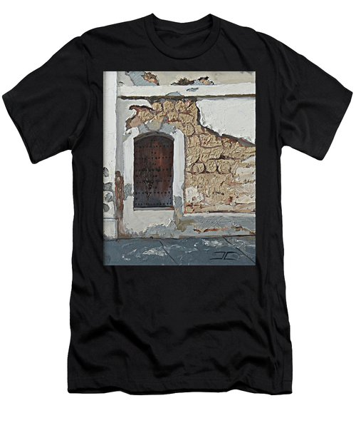 Puerto Rico Door Men's T-Shirt (Athletic Fit)