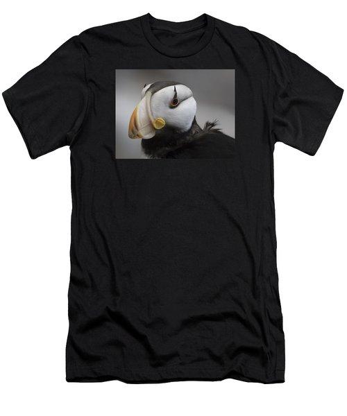 Puffin Portrait Men's T-Shirt (Athletic Fit)