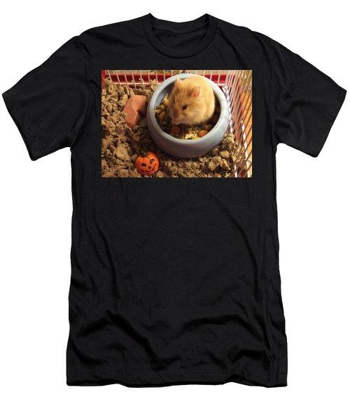 Pumpkin With Pumpkin Men's T-Shirt (Athletic Fit)