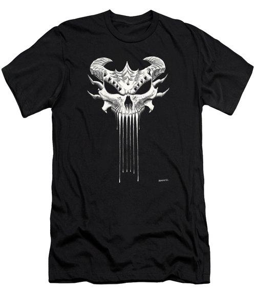 Dragon Skull T-shirt Men's T-Shirt (Athletic Fit)