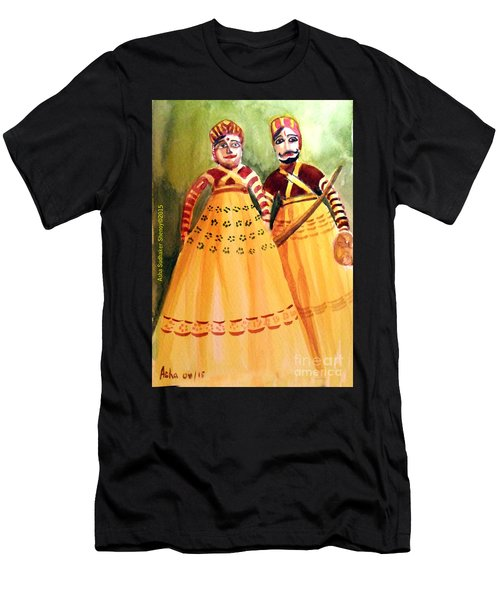 Puppets Of India Men's T-Shirt (Athletic Fit)
