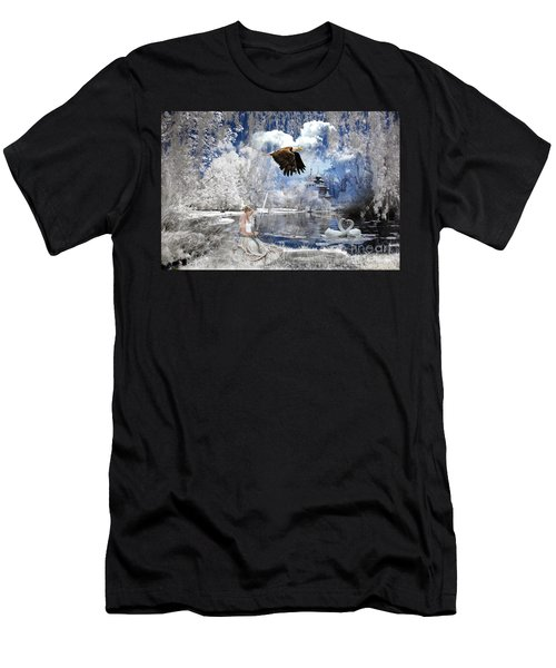 Pure Hearted Warrior Men's T-Shirt (Athletic Fit)