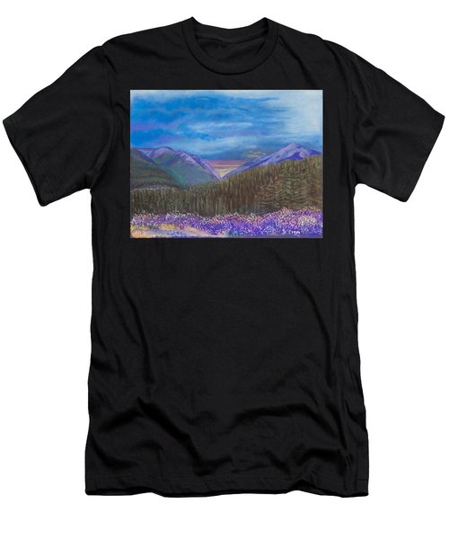 Purple Alaska Men's T-Shirt (Athletic Fit)