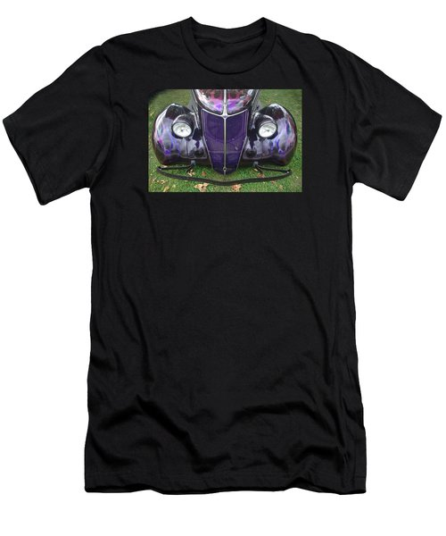 Purple Antique Ford Men's T-Shirt (Slim Fit) by Kathy M Krause
