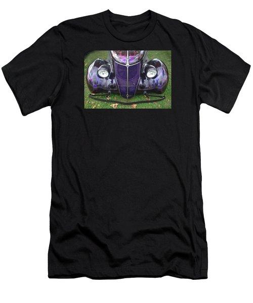 Purple Antique Ford Men's T-Shirt (Athletic Fit)
