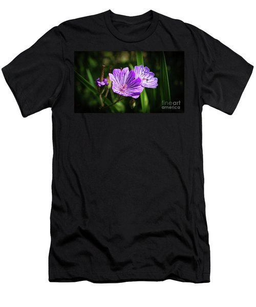 Purple Attraction Men's T-Shirt (Athletic Fit)