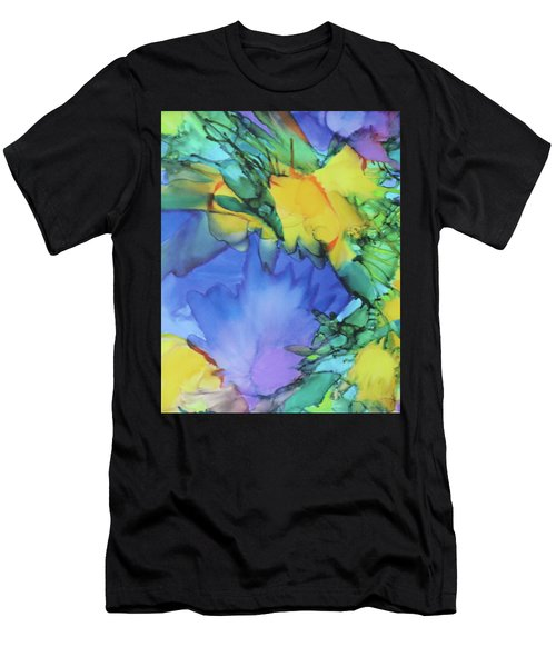 Purple Bird Of Paradise Men's T-Shirt (Athletic Fit)