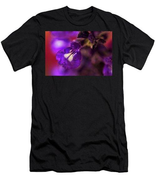 Purple Blends Men's T-Shirt (Athletic Fit)