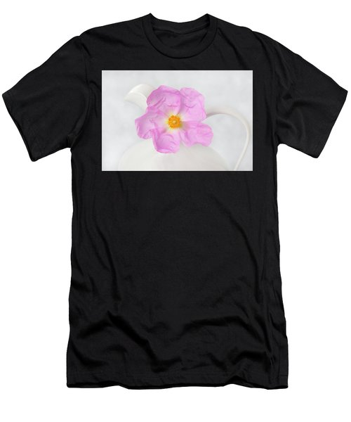Purple Bloom Men's T-Shirt (Athletic Fit)