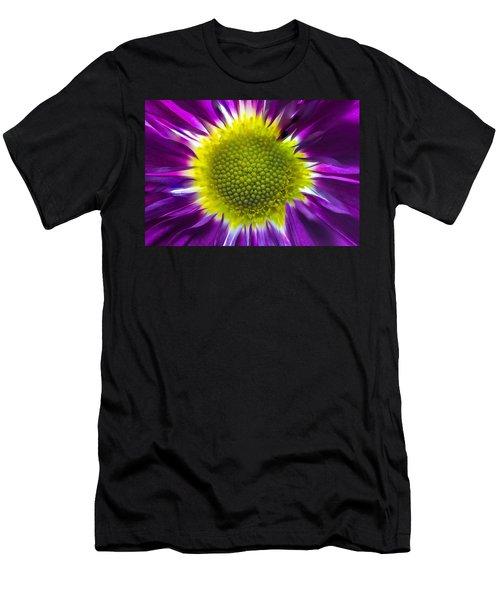 Purple Burst Men's T-Shirt (Athletic Fit)