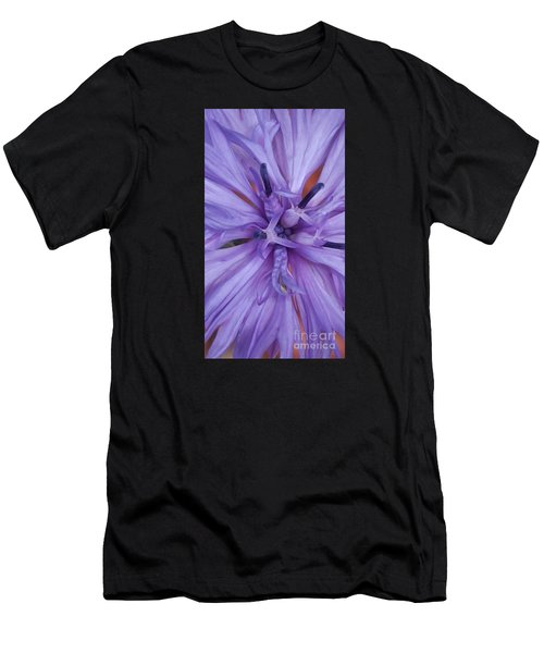 Purple Colorado Wildflower In Macro Men's T-Shirt (Athletic Fit)