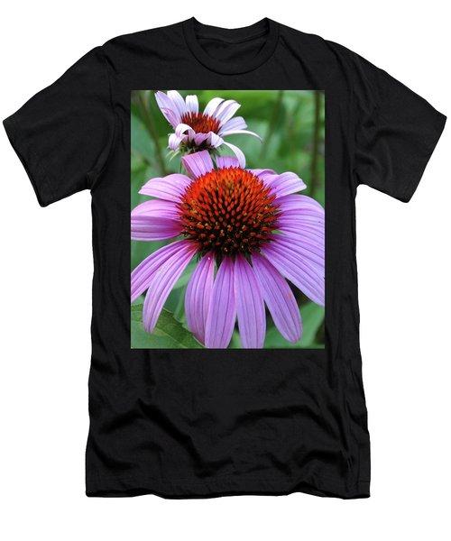 Purple Coneflowers Men's T-Shirt (Athletic Fit)