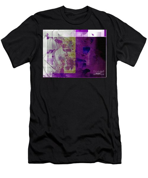 Purple Men's T-Shirt (Athletic Fit)