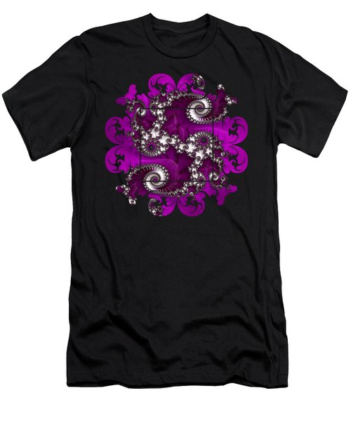 Purple Dragon Men's T-Shirt (Athletic Fit)