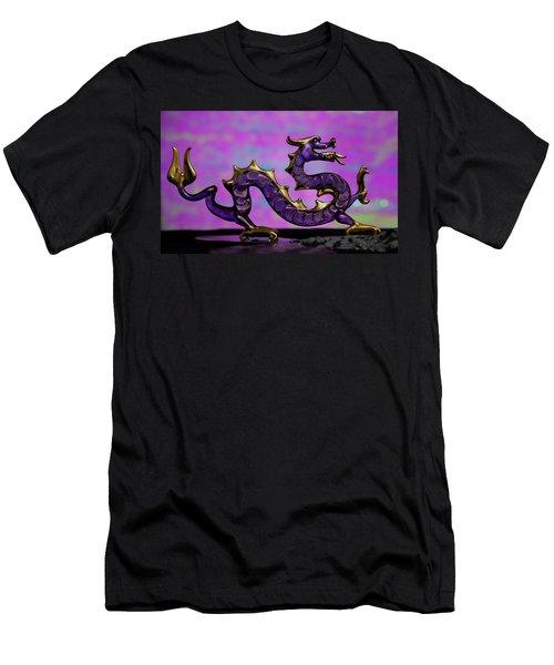 Purple Dragon Men's T-Shirt (Athletic Fit)