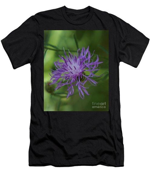 Purple Flower 8 Men's T-Shirt (Athletic Fit)