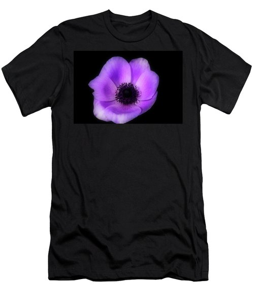 Purple Flower Head Men's T-Shirt (Athletic Fit)