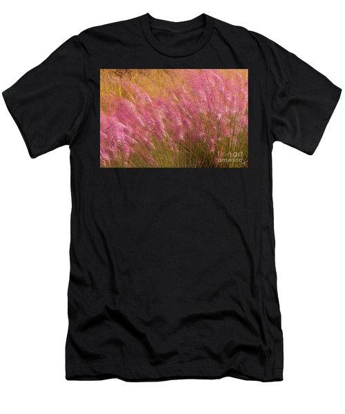 Purple Flowers Men's T-Shirt (Athletic Fit)