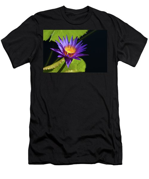 Men's T-Shirt (Slim Fit) featuring the photograph Purple Gold by Steve Stuller