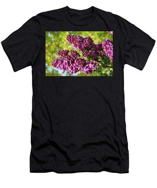 Purple Lilac 1 Men's T-Shirt (Athletic Fit)