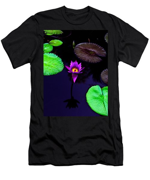 Purple Lily Men's T-Shirt (Athletic Fit)