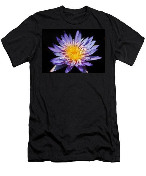 Purple Lotus Men's T-Shirt (Athletic Fit)