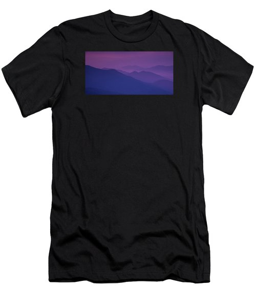 Purple Mountain Majesty Men's T-Shirt (Athletic Fit)