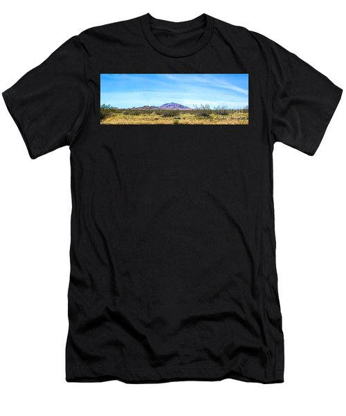 Purple Mountain Panoramic Men's T-Shirt (Athletic Fit)