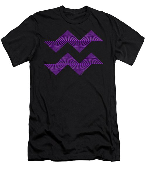 Purple Mountains Men's T-Shirt (Athletic Fit)