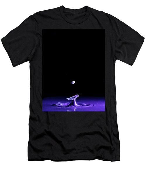 Purple Mushroom Men's T-Shirt (Athletic Fit)