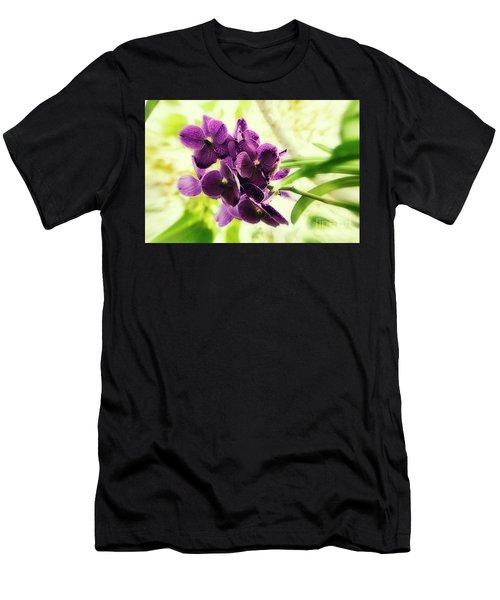 Purple Orchid Men's T-Shirt (Athletic Fit)