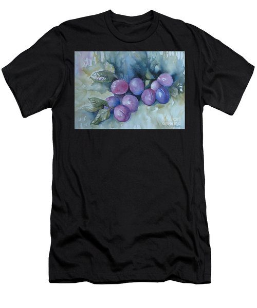 Purple Plums Men's T-Shirt (Athletic Fit)