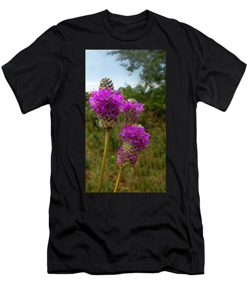 Purple Prairie Clover Men's T-Shirt (Athletic Fit)
