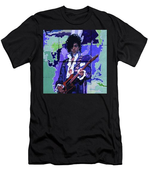 Purple Rain And Prince Men's T-Shirt (Athletic Fit)