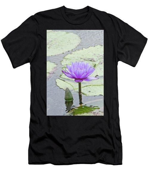Purple Men's T-Shirt (Athletic Fit)