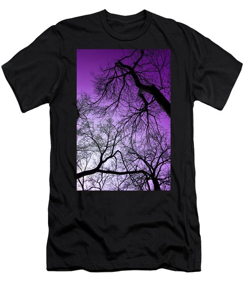 Purple Sky Men's T-Shirt (Athletic Fit)