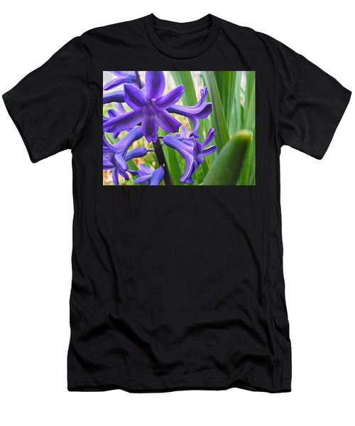 Men's T-Shirt (Athletic Fit) featuring the photograph Purple Spring by Robert Knight