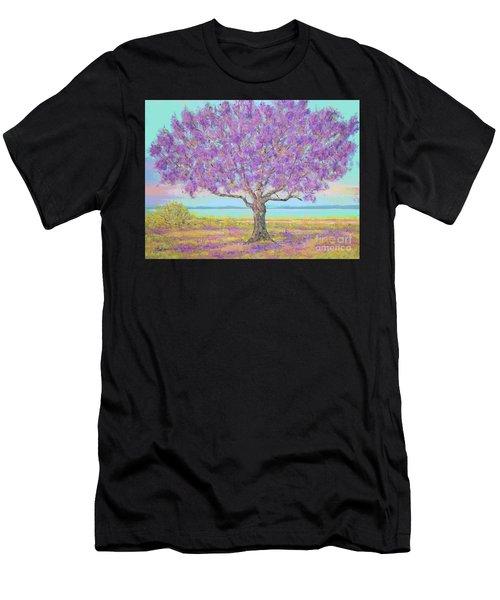 Purple Tree Men's T-Shirt (Athletic Fit)