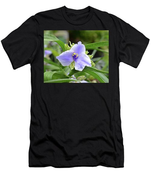 Spiderwort Men's T-Shirt (Slim Fit) by Ronda Ryan