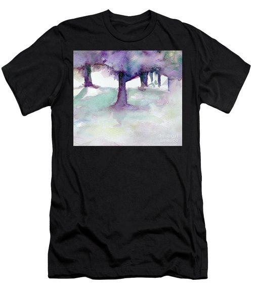 Purplescape II Men's T-Shirt (Athletic Fit)