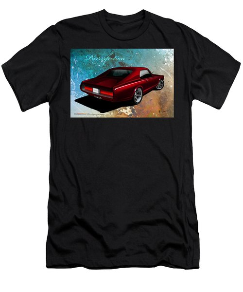 Men's T-Shirt (Athletic Fit) featuring the digital art Purrrrfection by Doug Schramm