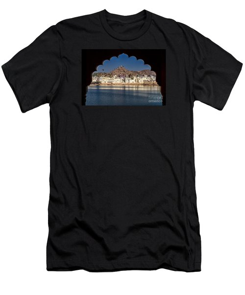 Men's T-Shirt (Athletic Fit) featuring the photograph Pushkar Lake by Yew Kwang