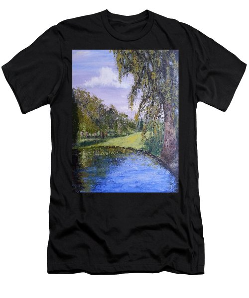 Putting Green Pond Men's T-Shirt (Athletic Fit)