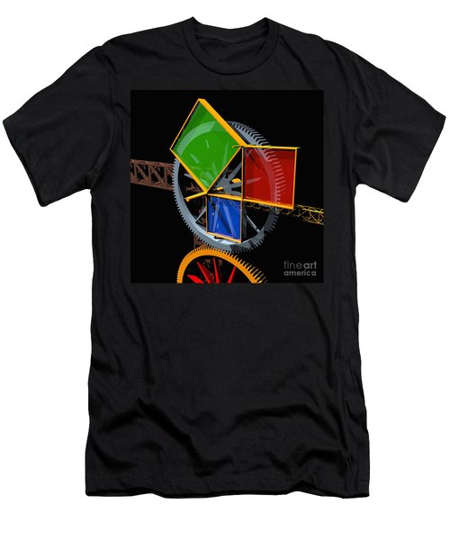 Pythagorean Machine Men's T-Shirt (Athletic Fit)